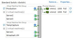 vSwitch Capture Setup