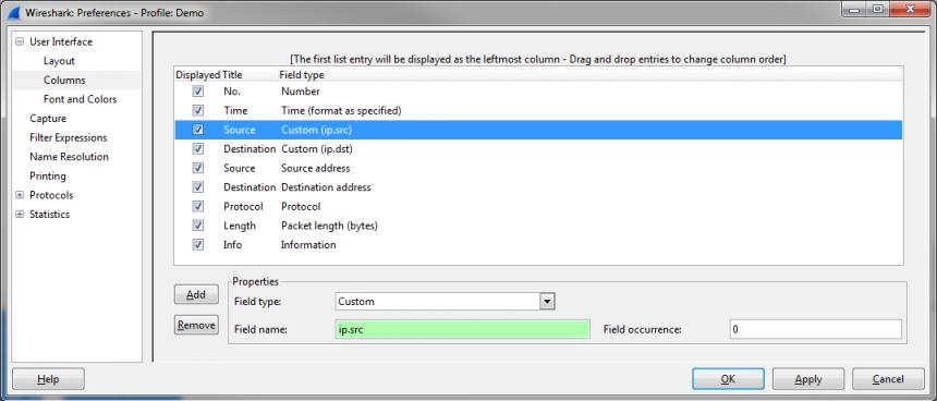 Tweaking Wireshark Columns and Decodes   Packet-Foo