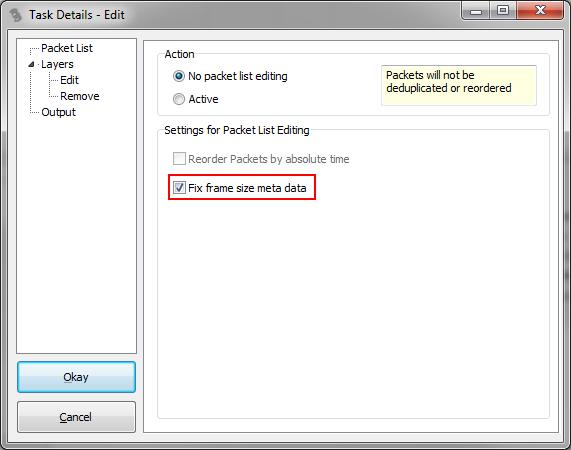 TraceWrangler Edit Task