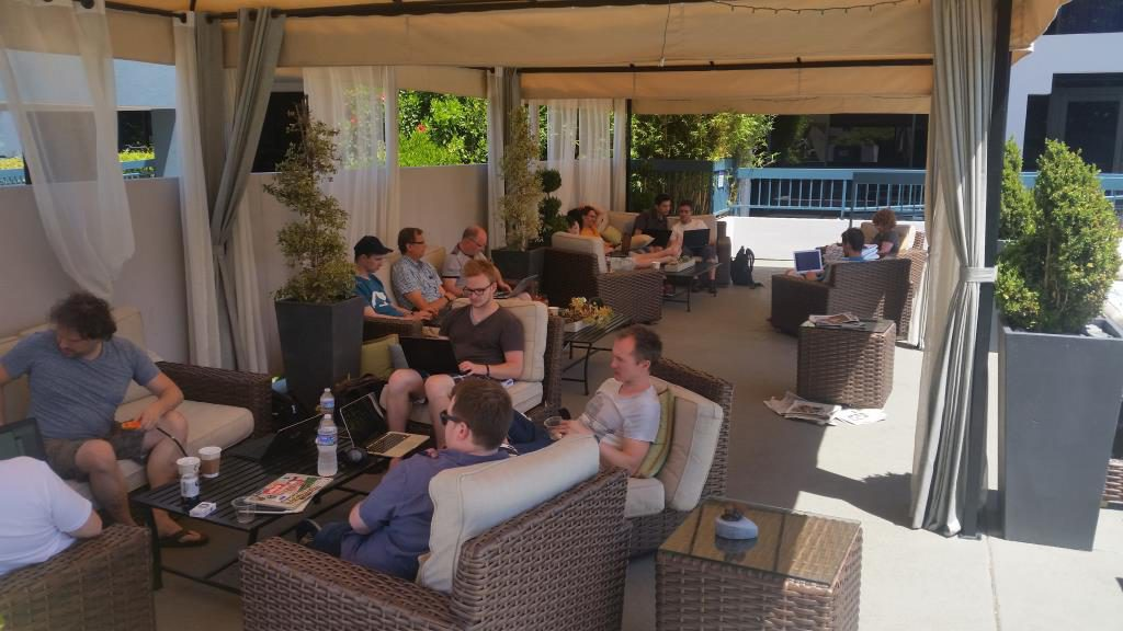 CoreDevelopers at the Pool 2016