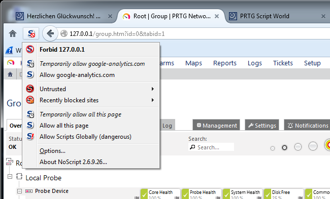 A look at Paessler PRTG | Packet-Foo | Network Packet